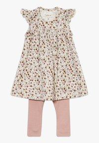 Name it - NBFHUTINA DRESS NBFHORINA SET - Leggings - nostalgia rose - 0