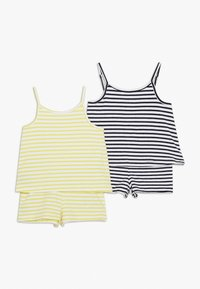 Name it - NMFJILL SHORT SUIT 2 PACK  - Mono - limelight/bright white - 0