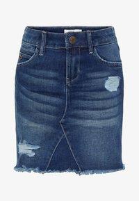 Name it - Denim skirt - dark blue denim - 0