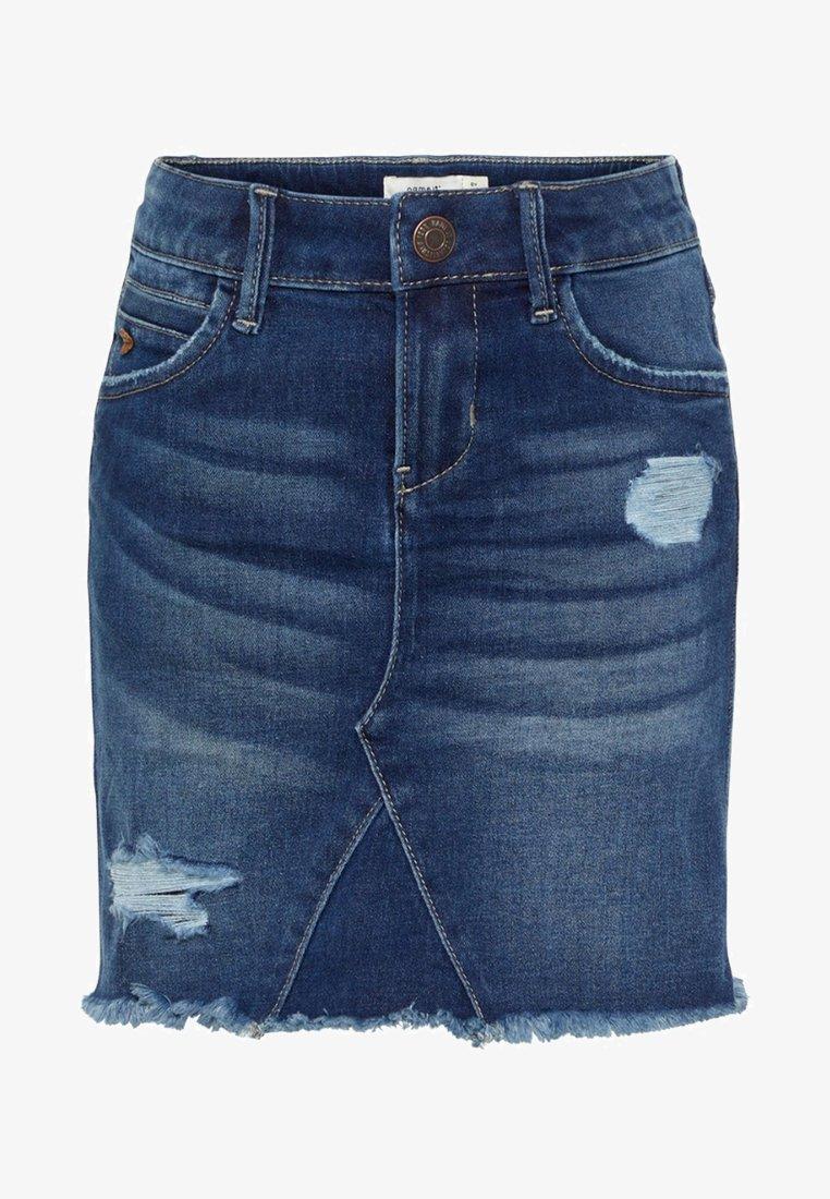 Name it - Denim skirt - dark blue denim