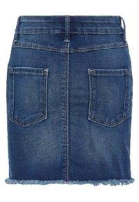 Name it - Denim skirt - dark blue denim - 1