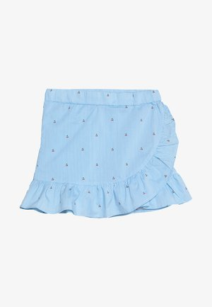 NKFDAIMI WRAP SKIRT - Minijupe - blue bonnet