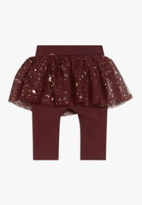 Name it - NBFRITT SKRIT LEGGING 2-IN-1 - Minijupe - cabernet - 1