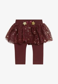 Name it - NBFRITT SKRIT LEGGING 2-IN-1 - Minijupe - cabernet - 2