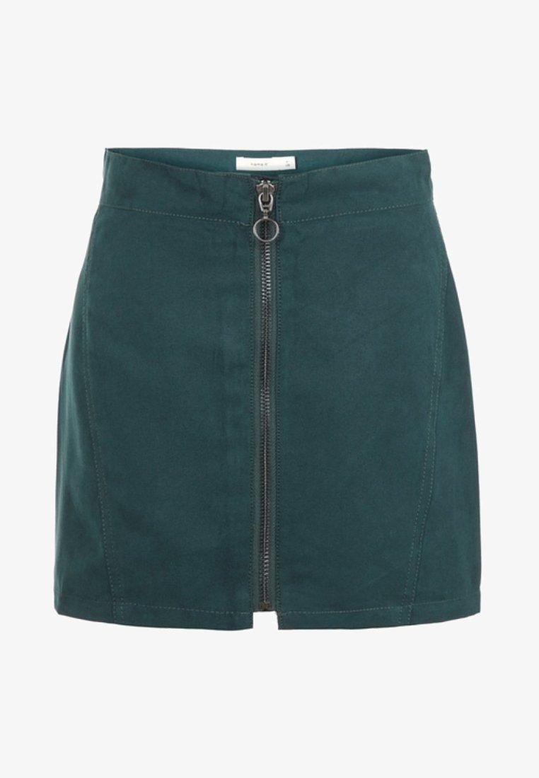 Name it - Jupe trapèze - green