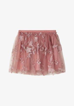 Spódnica trapezowa - light pink