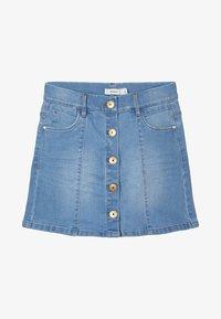 Name it - Spódnica jeansowa - medium blue denim - 0