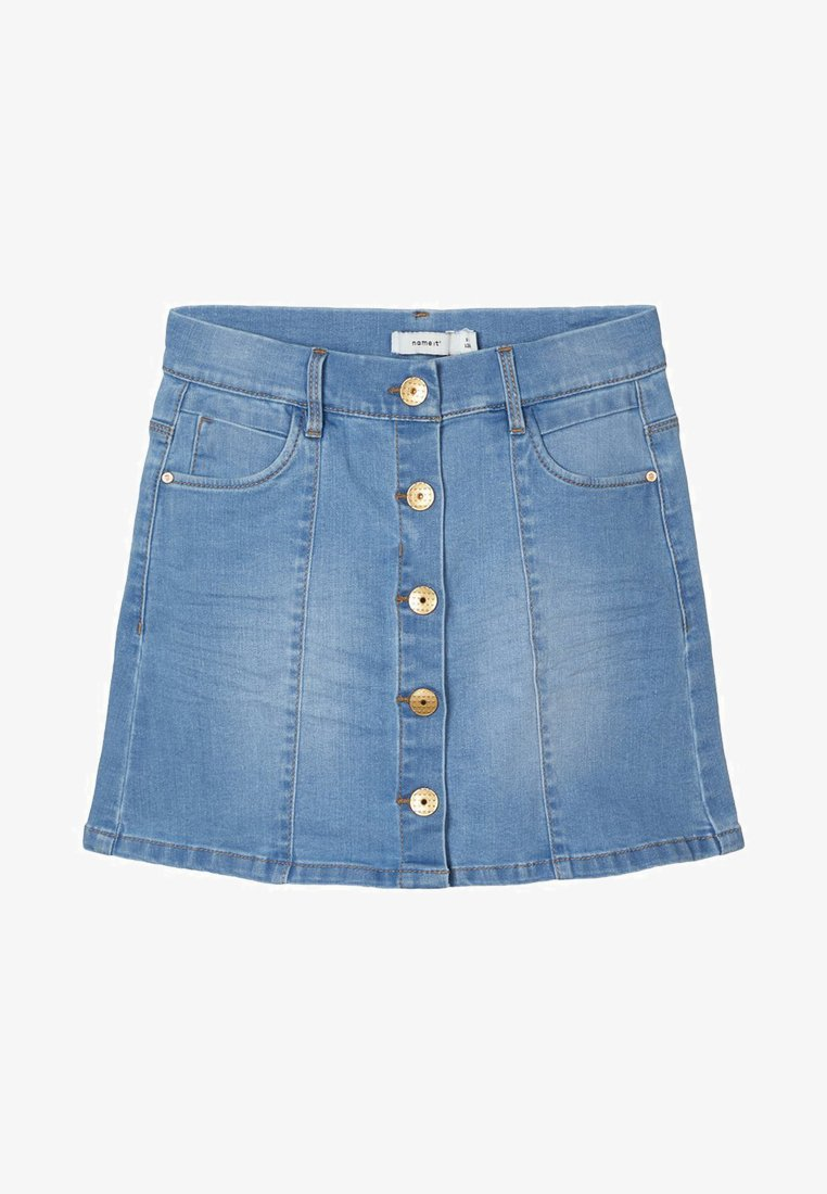Name it - Spódnica jeansowa - medium blue denim