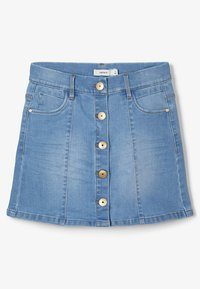 Name it - Spódnica jeansowa - medium blue denim - 1