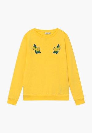 NKFDAFINE - Sweatshirt - aspen gold