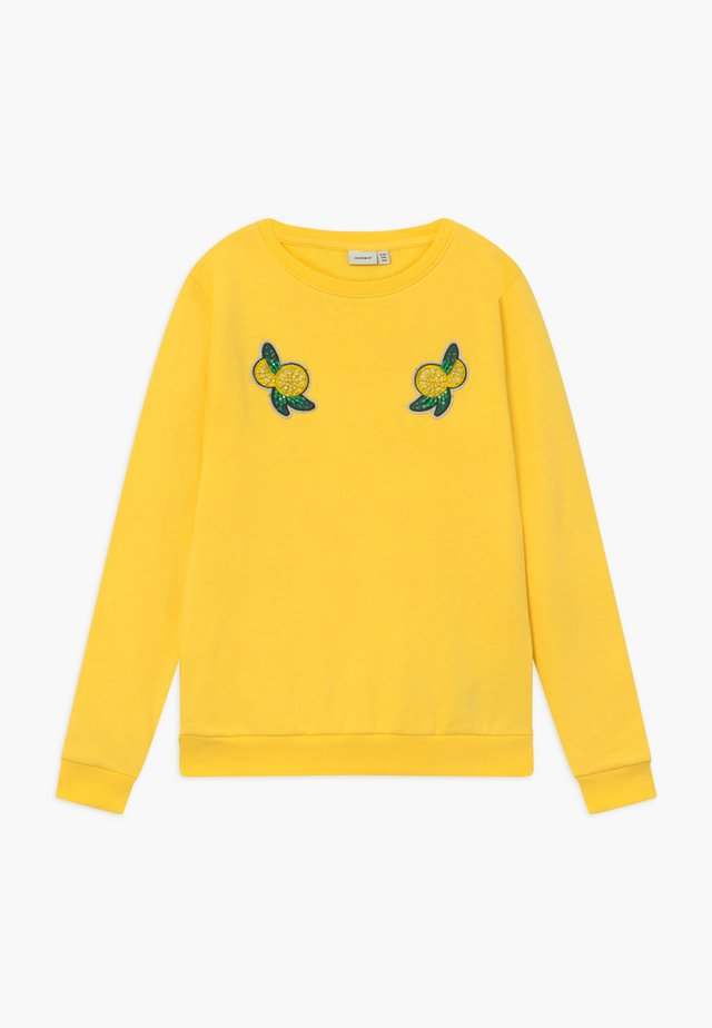 NKFDAFINE - Sweatshirt - aspen gold