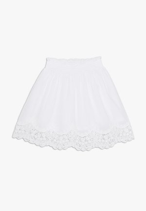 NKFHAYLA SKIRT - A-Linien-Rock - bright white