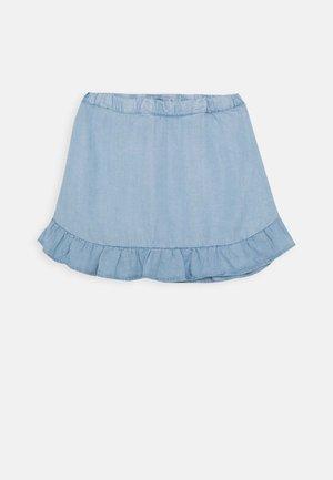 NMFBAJYTTE SKIRT - Minijupe - light blue denim