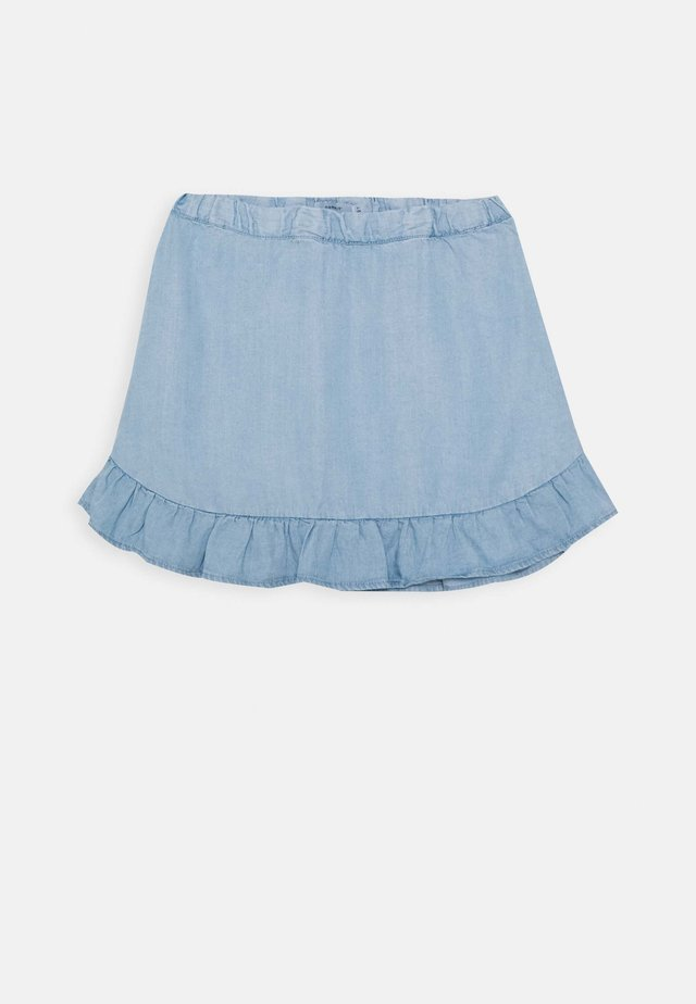 NMFBAJYTTE SKIRT - Minigonna - light blue denim