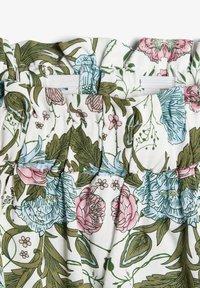 Name it - NAME IT ROCK BLUMENPRINT - A-line skirt - snow white - 3