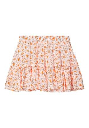 BLUMENPRINT - A-line skirt - bright white