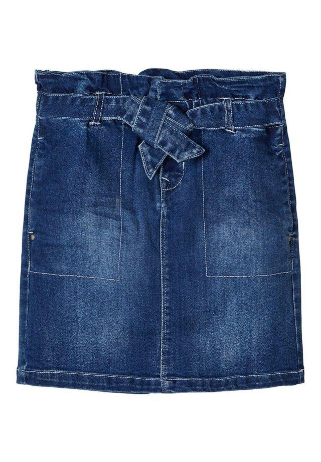 Gonna di jeans - medium blue denim