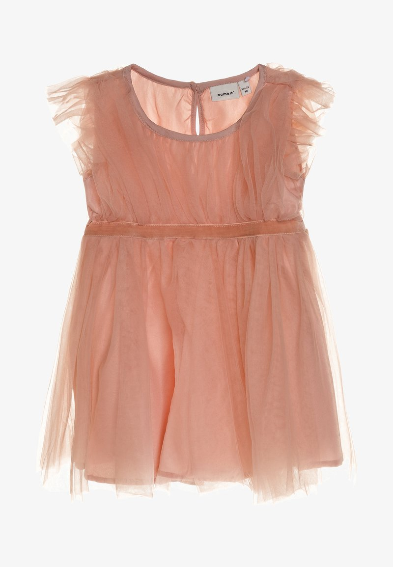 Name it - NMFRALINE DRESS MINI - Vestido de cóctel - rose cloud
