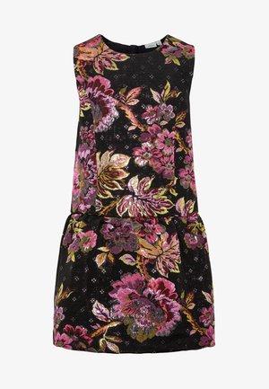 Robe de soirée - black/multi-coloured
