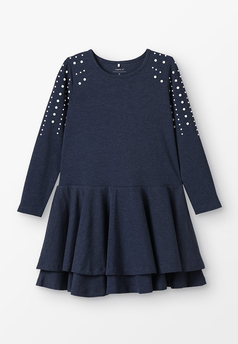 Name it - NKFTINE DRESS - Jerseykleid - dark sapphire