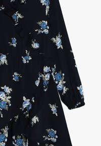Name it - NKFBRIT WRAP DRESS - Vapaa-ajan mekko - dark sapphire - 2