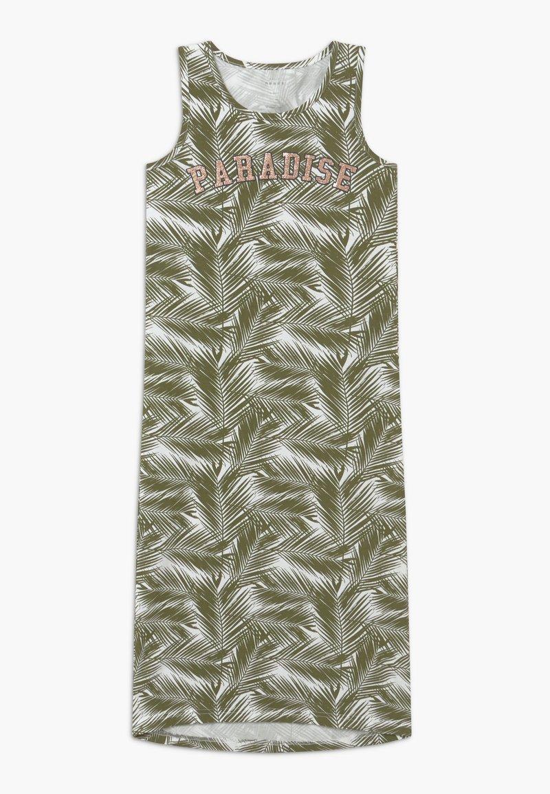 Name it - NKFVIPPA - Maxi-jurk - loden green
