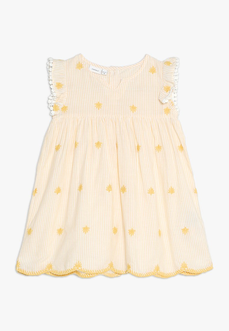 Name it - NMFFENJA DRESS MINI - Day dress - pale marigold