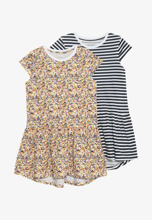 NKFVIGGA DRESS 2 PACK  - Jersey dress - multicoloured