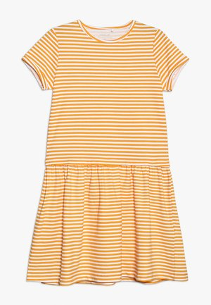 DRESS CAMPMINI - Robe en jersey - cadmium yellow