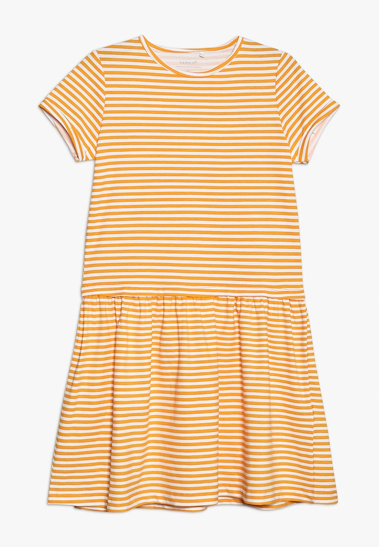 Name it - DRESS CAMPMINI - Jerseyjurk - cadmium yellow