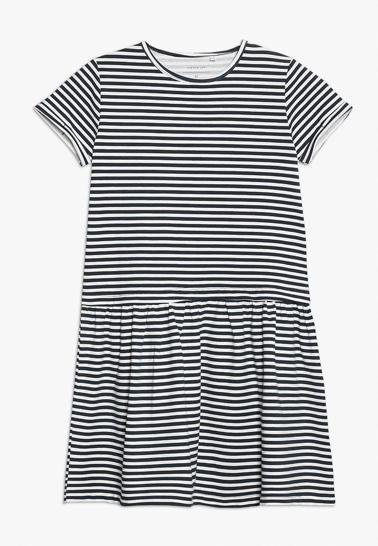 Name it - DRESS CAMPMINI - Jersey dress - dark sapphire