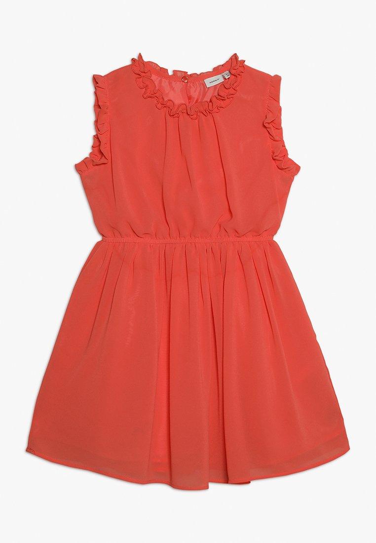 Name it - NMFVILUSI DRESS MINI - Vestido de cóctel - emberglow
