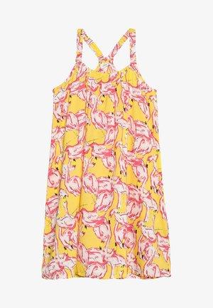 NKFJAMILLE STRAP DRESS - Denní šaty - primrose yellow