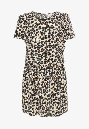 LEOPARDENPRINT  - Korte jurk - white