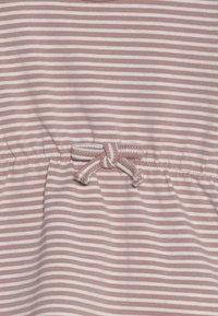 Name it - NBFDELUCIOUS STRIPE - Jersey dress - woodrose - 3