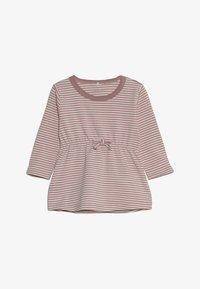 Name it - NBFDELUCIOUS STRIPE - Jersey dress - woodrose - 2