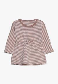Name it - NBFDELUCIOUS STRIPE - Jersey dress - woodrose - 0