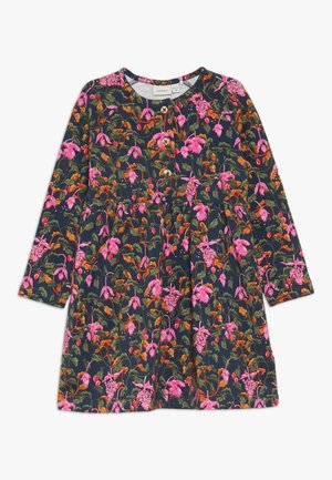 NMFLIRA DRESS - Robe en jersey - dark sapphire