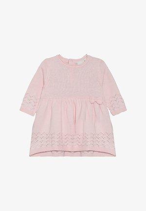 NBFLAEL DRESS - Neulemekko - barely pink