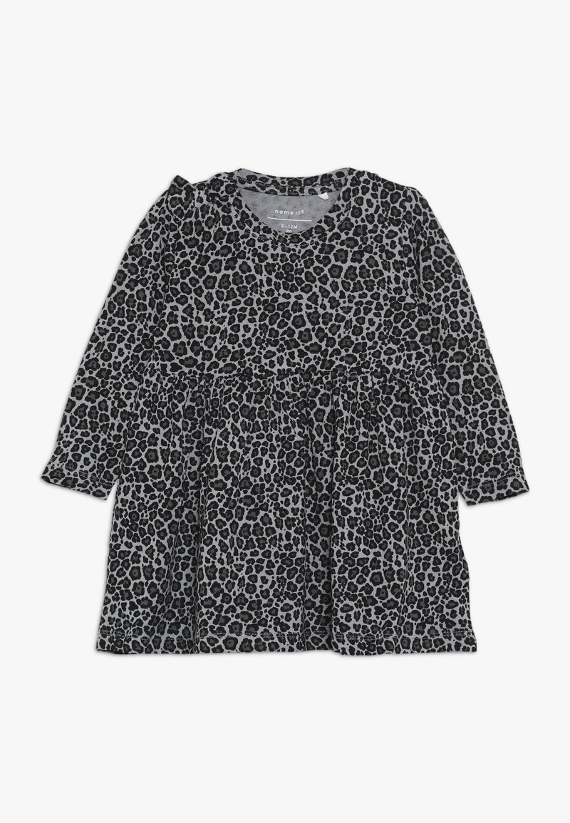Name it - NBFLALA DRESS - Jersey dress - grey melange