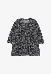 Name it - NBFLALA DRESS - Jersey dress - grey melange - 3