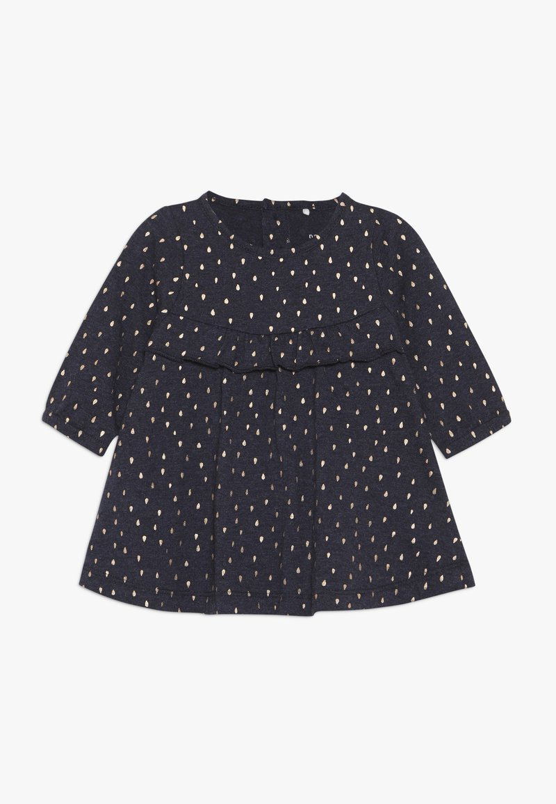 Name it - NBFODESSA DRESS - Jersey dress - dark sapphire