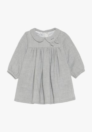 NBFODILLE DRESS - Korte jurk - grey melange