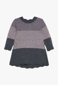 Name it - NBFWHOOPI DRESS  - Pletené šaty - burnished lilac - 0