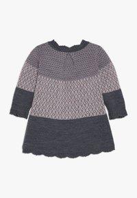 Name it - NBFWHOOPI DRESS  - Pletené šaty - burnished lilac - 1