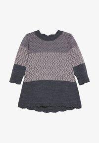 Name it - NBFWHOOPI DRESS  - Pletené šaty - burnished lilac - 2