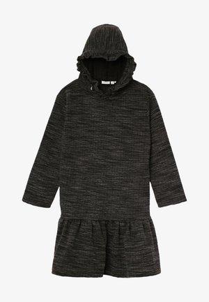 NKFOLINEA DRESS - Day dress - dark grey melange