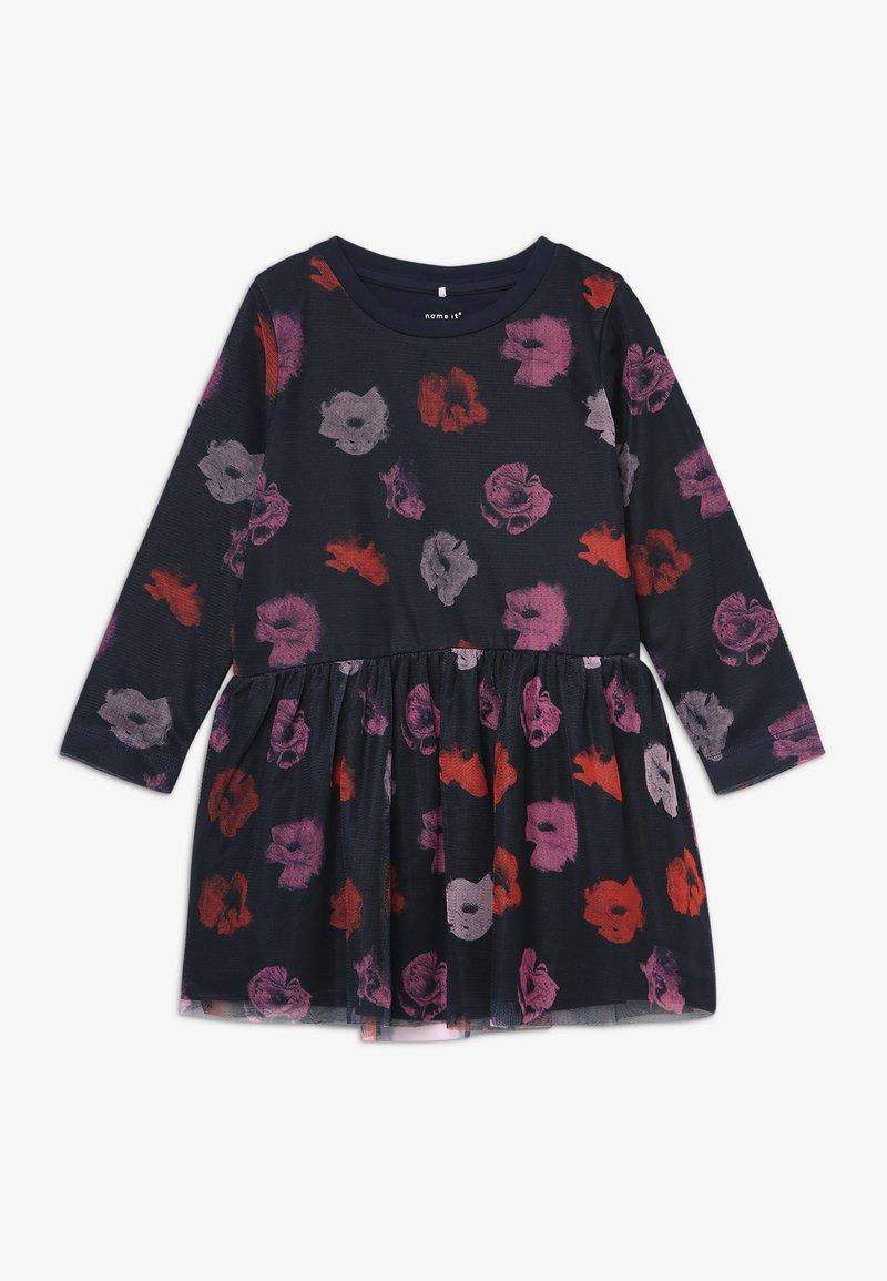 Name it - NMFOLINAS DRESS - Korte jurk - dark sapphire