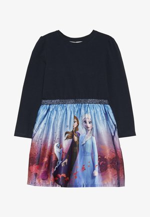 DISNEY FROZEN ELSA - Jersey dress - dark sapphire