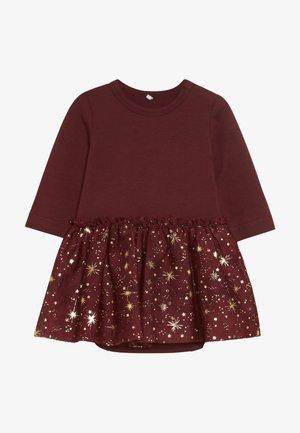 NBFRITT BODY DRESS - Jersey dress - cabernet